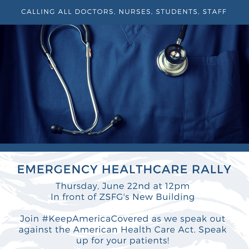 SF - Emergency Rally to Save Health Care - Committee of Interns and